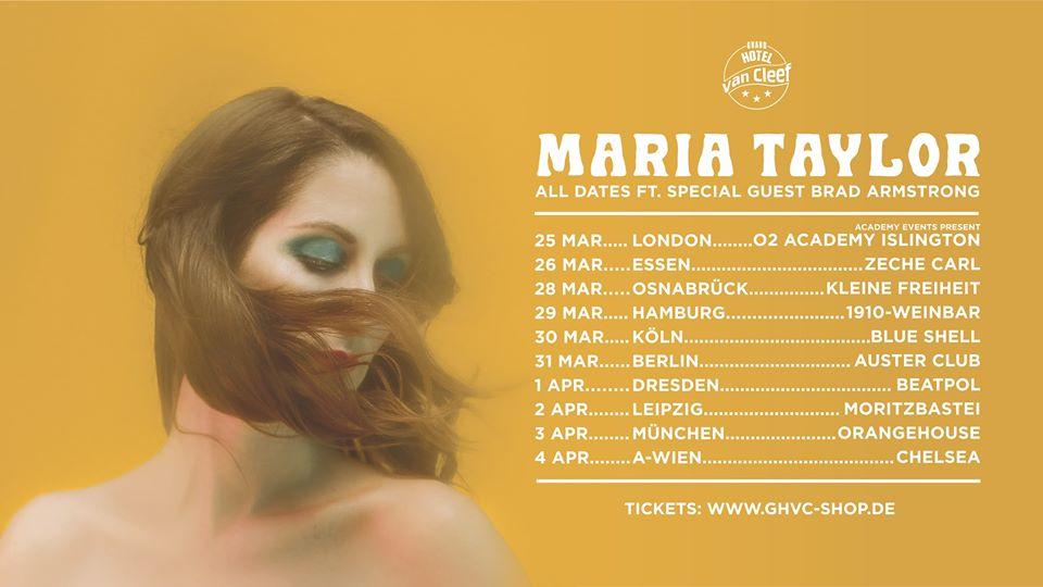 Maria Taylor am 4. April 2020 @ Chelsea.