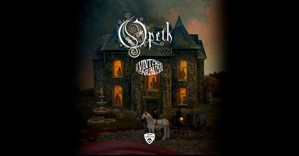 Opeth am 16. March 2021 @ Arena Wien - Große Halle.