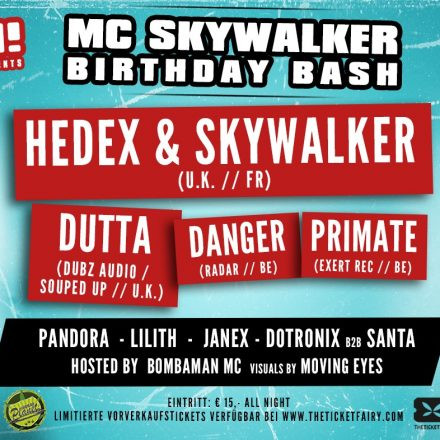 Switch! presents MC Skywalker Birthday Bash
