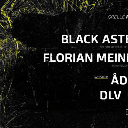 Techno.Deluxe w/ Florian Meindl // Black Asteroid