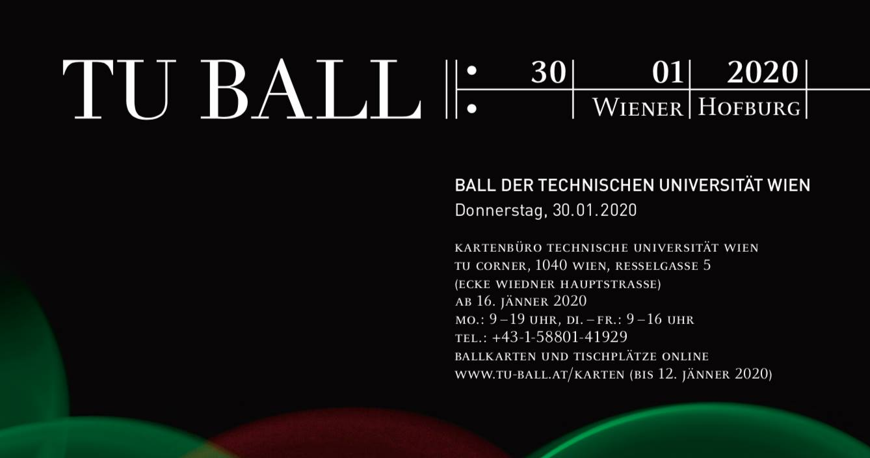 TU Ball 2020 am 30. January 2020 @ Hofburg - Eingang Heldenplatz.