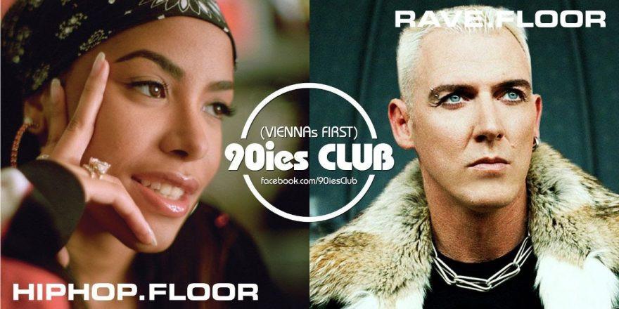 90ies Club mit Hip-Hop-Floor & Aaliyah Special