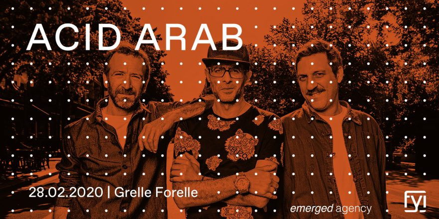 FYI: Acid Arab live (FR)