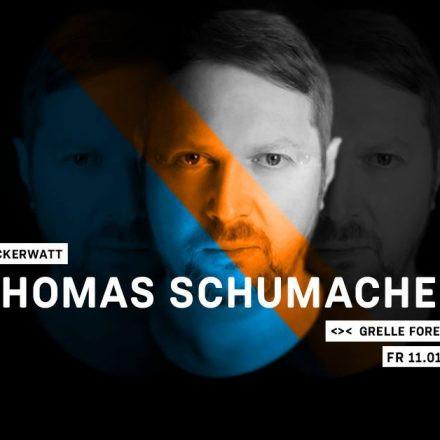 Zuckerwatt w/ Thomas Schumacher