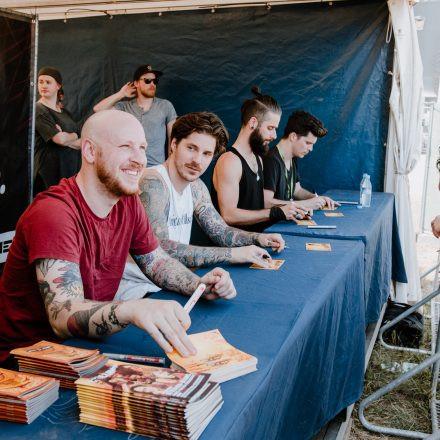Nova Rock Festival 2019 – Day 2 – Autogrammzelt