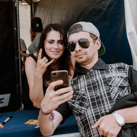 Nova Rock Festival 2019 – Day 4 – Autogrammzelt