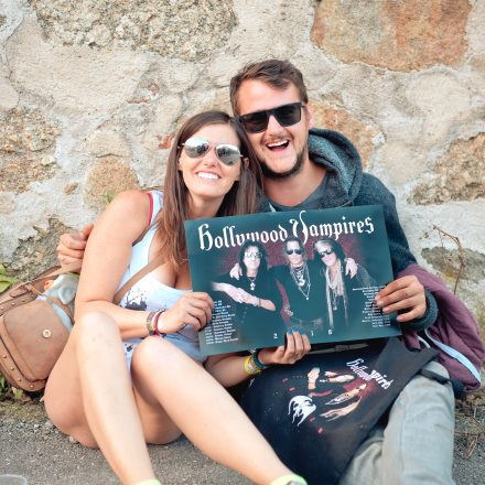 Hollywood Vampires @ Burg Clam