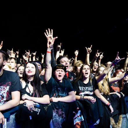 Slayer @ Wiener Stadthalle - Halle D