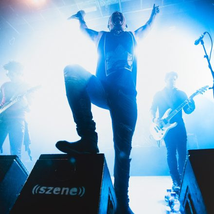 Escape The Fate, Slaves, The World Over @ Szene Wien