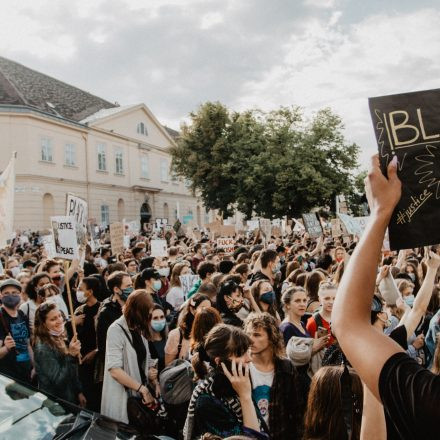 Demonstration #blacklivesmatter