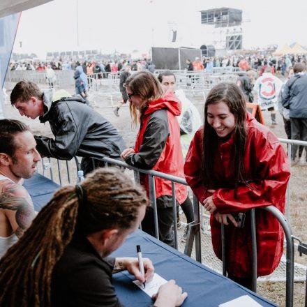 Nova Rock Festival 2018 - Day 1 - Autogrammzelt @ Pannonia Fields