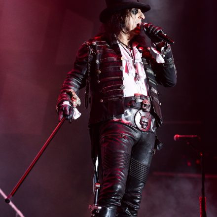ALICE COOPER - Ol' Black Eyes is Back-Tour 2019 @ Stadthalle Wien