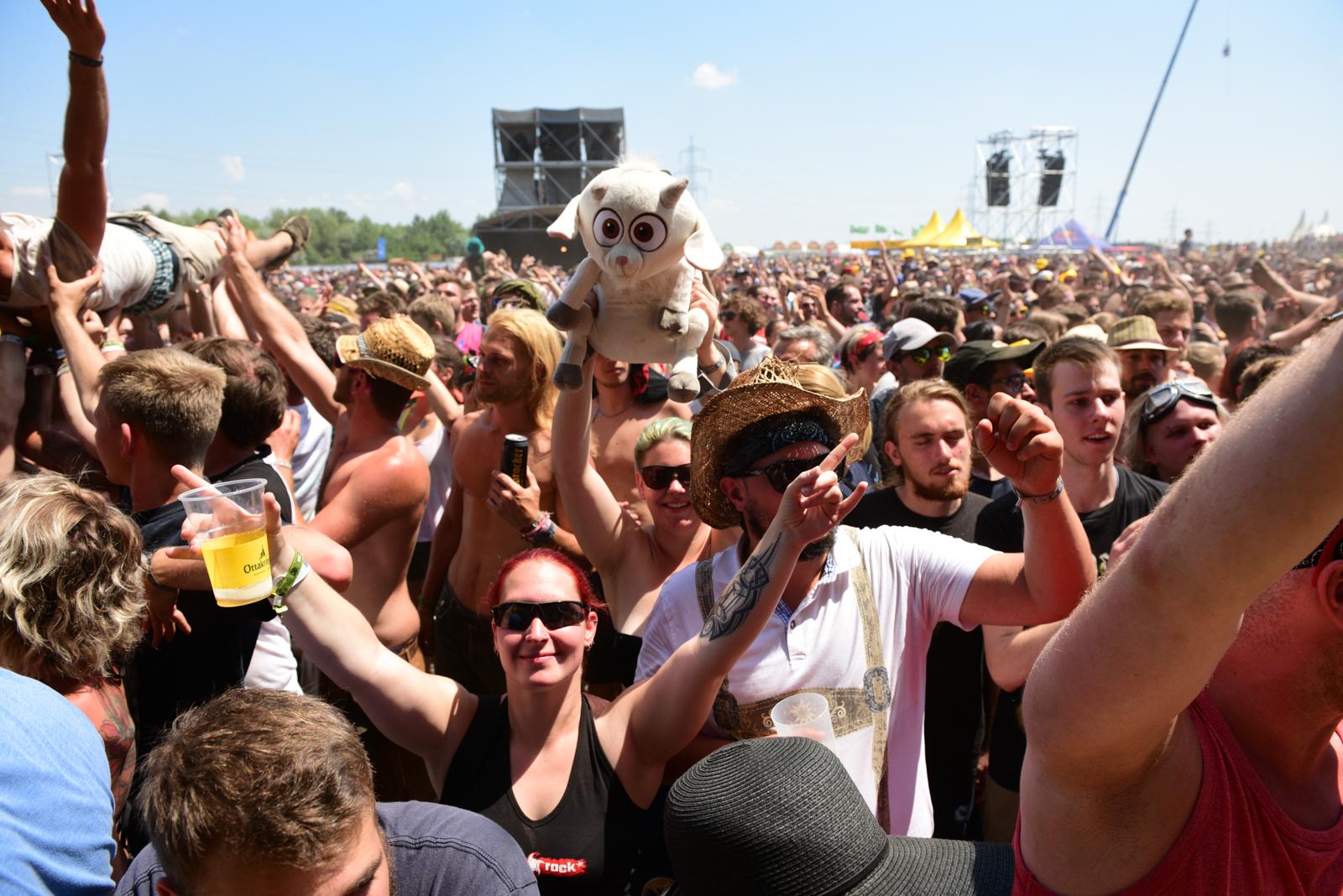 Nova Rock Festival 2018 - Day 4 [Part 1] @ Pannonia Fields