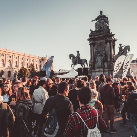 Klima Rave @ Maria Theresien Platz