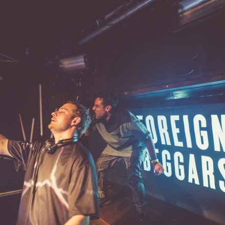Foreign Beggars / Support: Alix Perez @ Grelle Forelle Wien