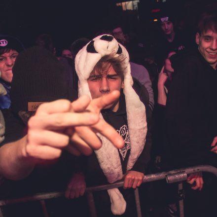 The Hive pres. Turno, 1991, Black Barrel & MC Swifta @ Flex Wien