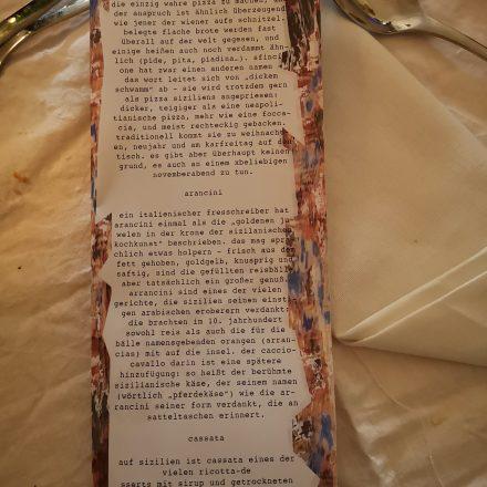 Croce Taravella – Sizilianisches Gelage @ die Schöne Wien