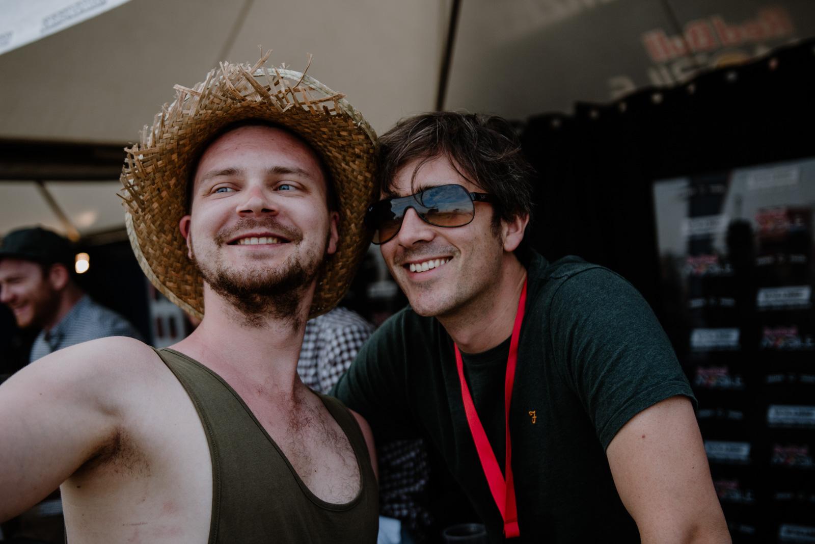 Nova Rock Festival 2018 – Day 4 – Autogrammzelt @ Pannonia Fields