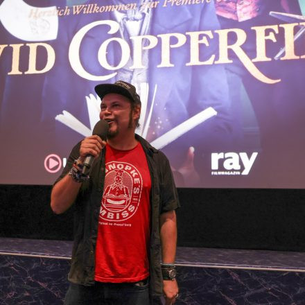Volume Filmpremiere: David Copperfield - Einmal Reichtum und zurück