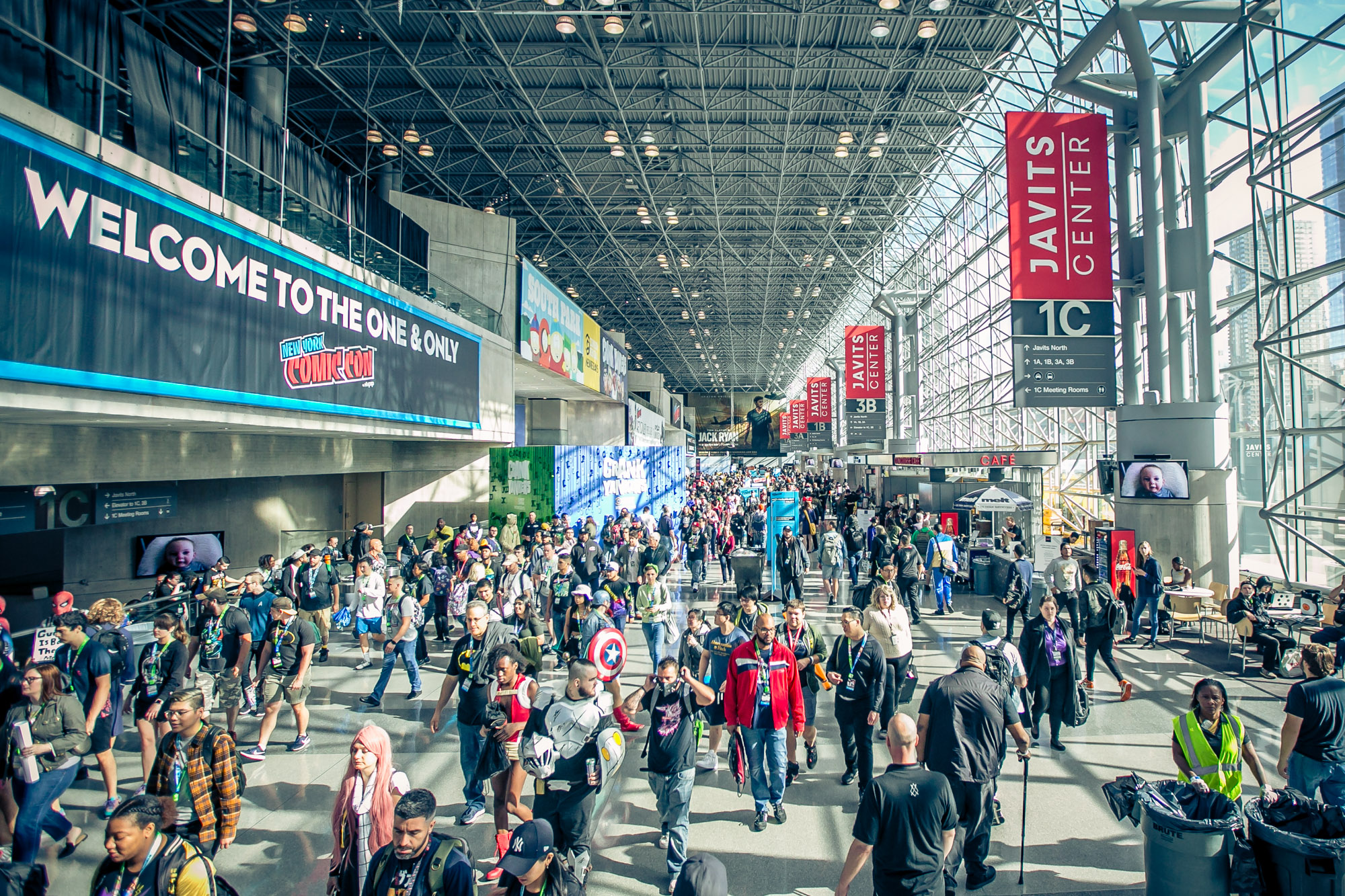 New York Comic Con 2019 am 4. October 2019 @ .