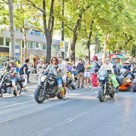 Regenbogen Parade 2012 @ Ringstraße Wien