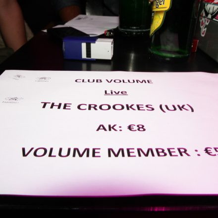Club Volume #10 - The Crookes Live @ B72