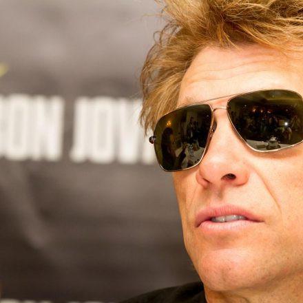 Bon Jovi Pressekonferenz