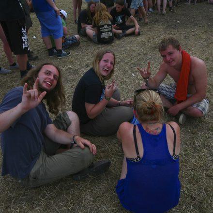 VOLUME Autogrammzelt @ Nova Rock Festival 2013