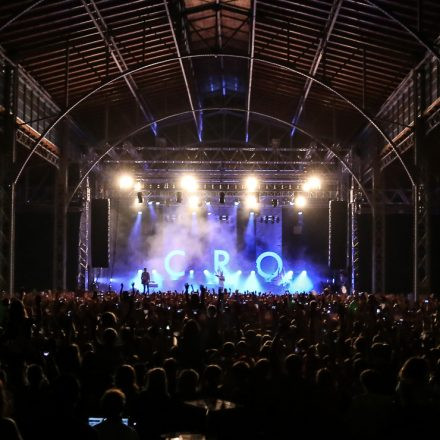 Cro - Open Air Tour @ Rinderhalle Neu Marx