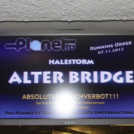 Alter Bridge @ Gasometer