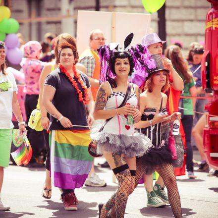 Regenbogenparade @ Ringstraße
