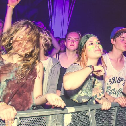 Frequency Festival 2014 Night 3 Part 1 @ Green Park