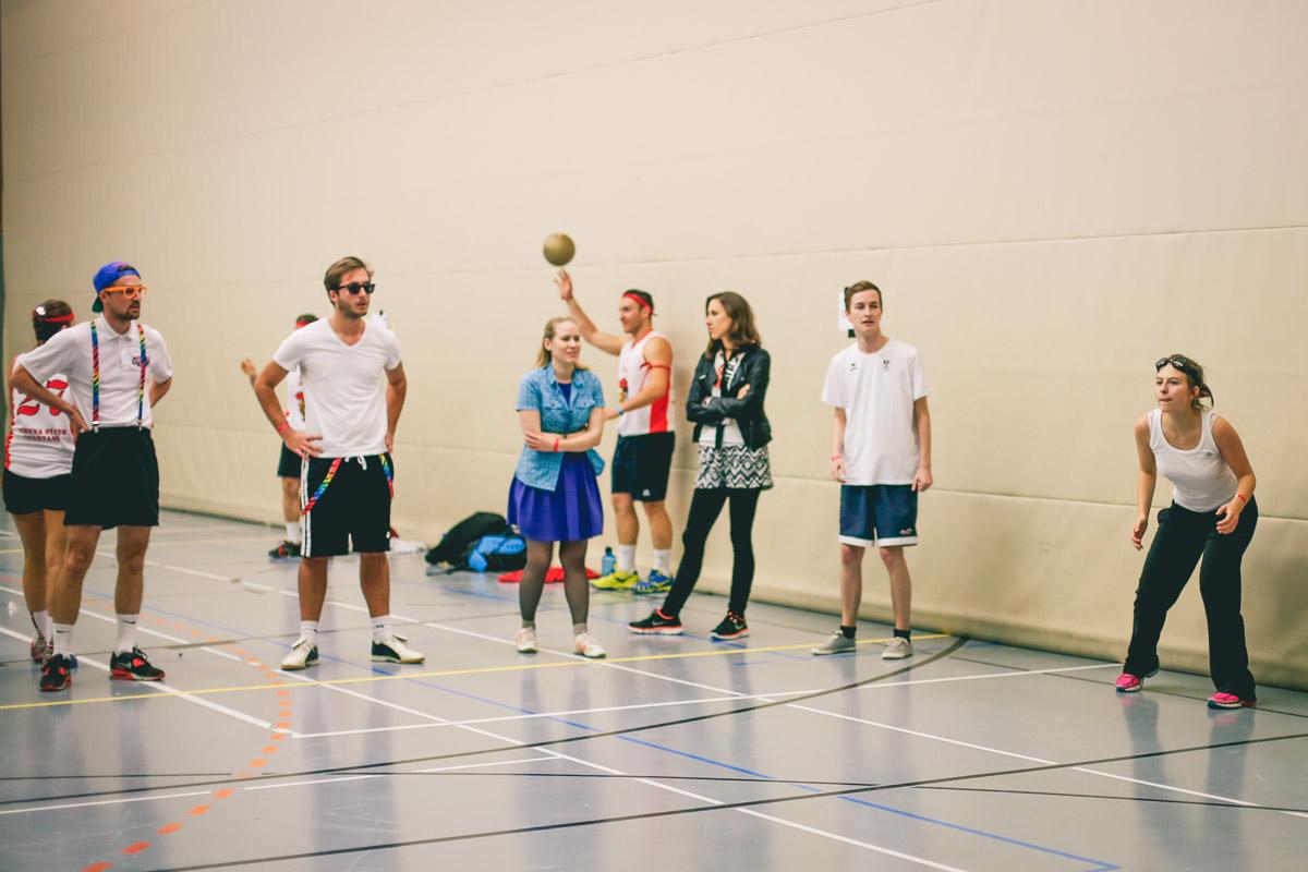 Dodgeball Mania 2014 @ USZ Schmelz