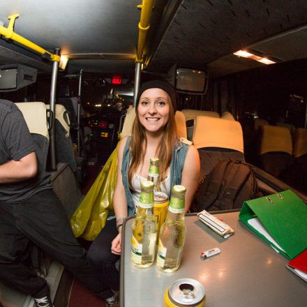 Let it Roll Winter 2014 Partybus powered by Volume @ Bratislava