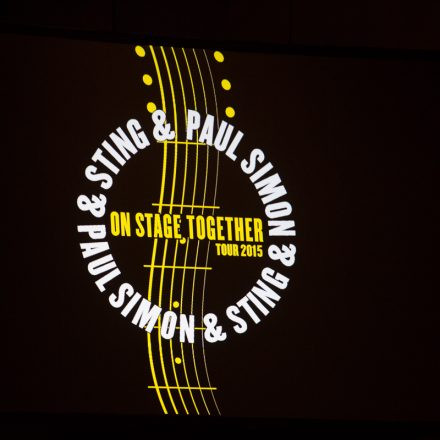 Paul Simon & Sting - On Stage Together 2015 @ Stadthalle D