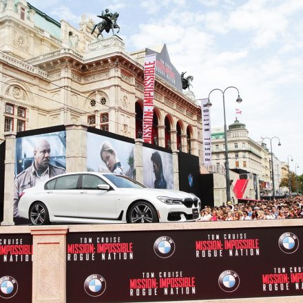 Mission: Impossible - Rogue Nation Weltpremiere @ Staatsoper
