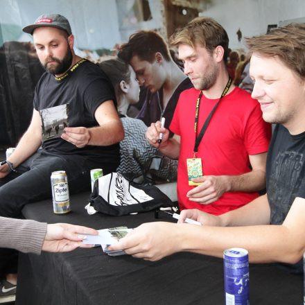 Volume Autogrammzelt powered by EVN @ FM4 Frequency Festival