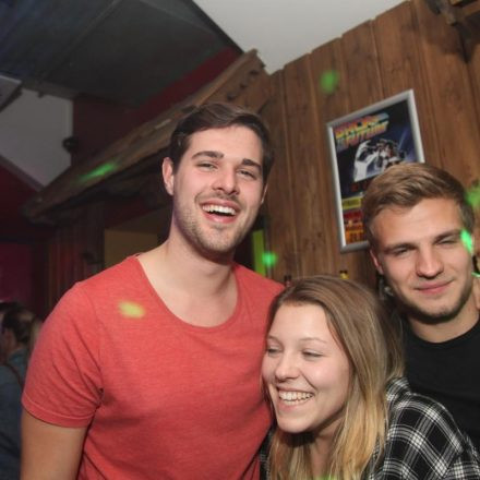 Back to the Futute Party @ Travel Shack