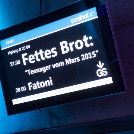 Fettes Brot @ Posthof Linz