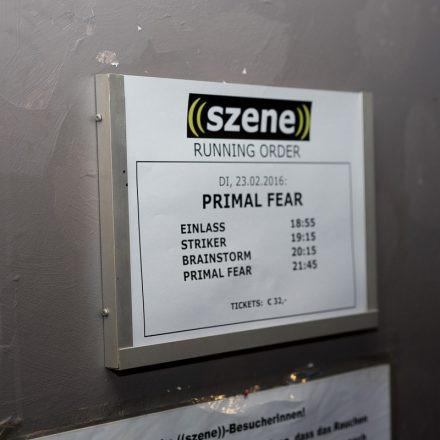 Primal Fear @Szene Wien