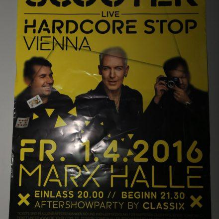 Scooter 'Hardcore Stop Vienna' @ St. Marx Halle