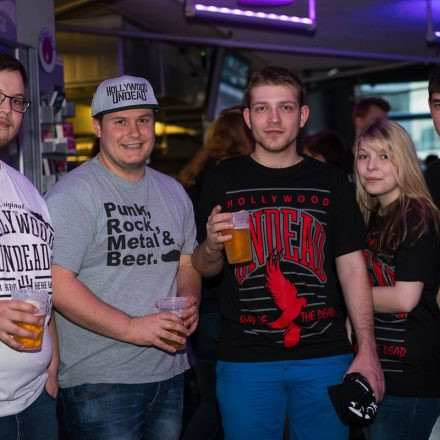 Hollywood Undead @Gasometer Wien