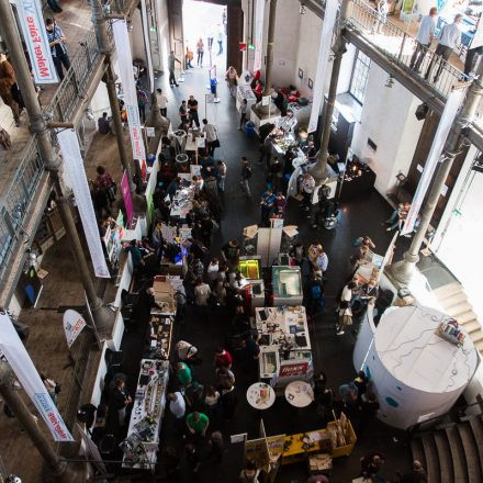 Maker Faire Vienna 2016 @ Atelierhaus der Akademie der bildenden Künste Wien