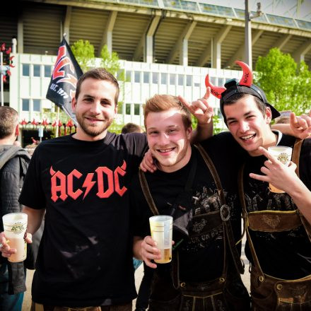 AC/DC Rock or Burst Tour 2016 @ Happelstadion Wien