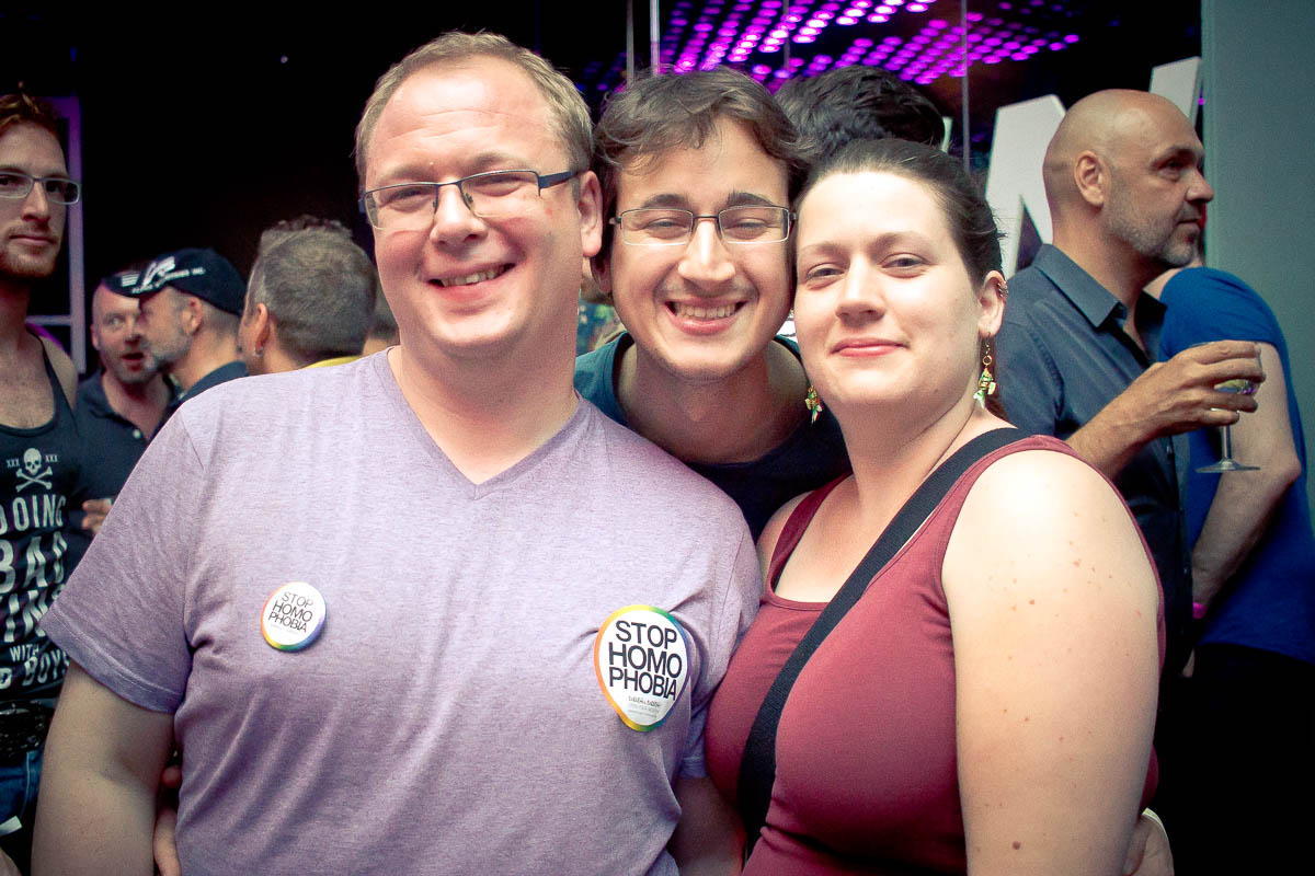 Official Pride Night 2016 @ Säulenhalle Wien