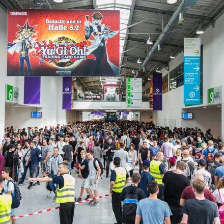 Gamescom 2017 @ Messe Köln