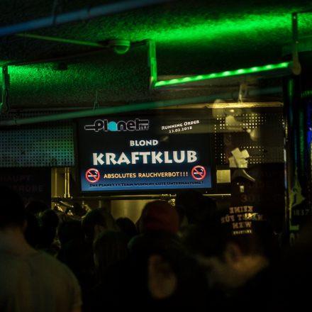 Kraftklub @ Gasometer Wien