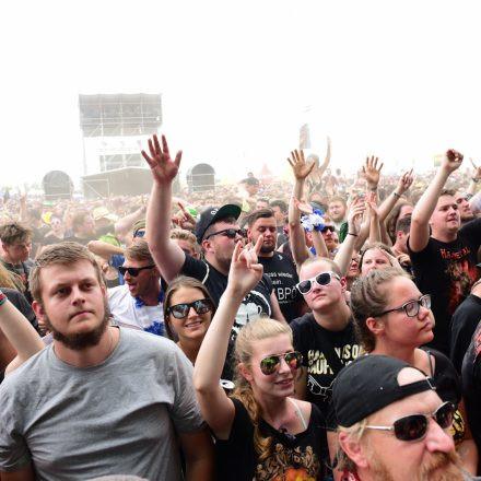 Nova Rock Festival 2018 - Day 3 [Part 1] @ Pannonia Fields