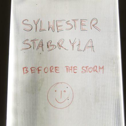 Sylvester Stabryla - Before the storm @ Die Schöne WIEN
