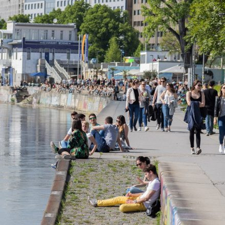 Tel Aviv Beach Opening @ Donaukanal Wien